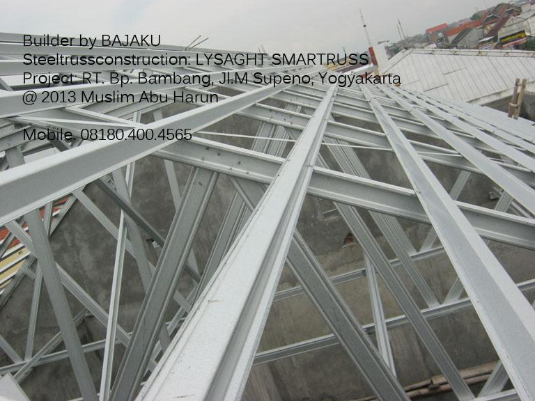 Baja Ringan Yogyakarta Lysaght Smartruss