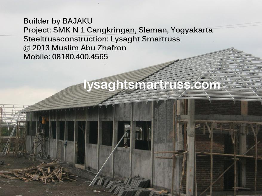 Lysaght Smartruss Baja Ringan Selaman-SMK Cangkringan