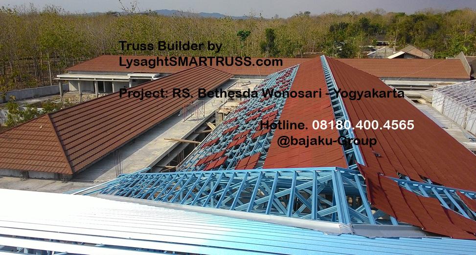 BAJAKU-LysaghtSMARTRUSS proyek RS Bethesda Wonosari_photo2