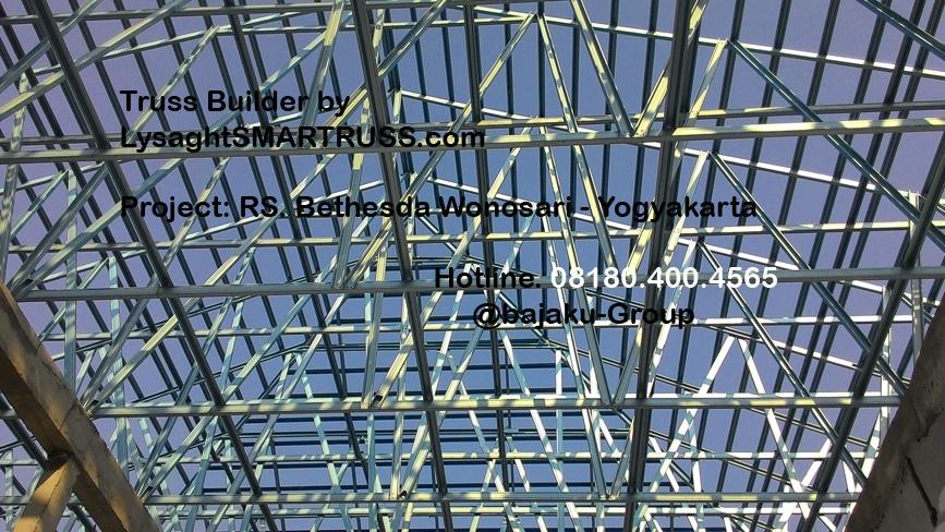 BAJAKU-LysaghtSMARTRUSS proyek RS Bethesda Wonosari_photo3