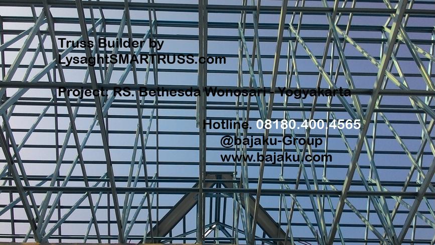 BAJAKU-LysaghtSMARTRUSS proyek RS Bethesda Wonosari_photo4